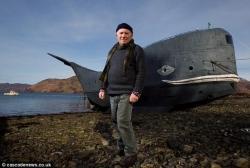73岁退伍特种兵造船 欲横渡大西洋