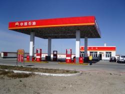 射阳县兴港加油站 成功处置货车自燃事件