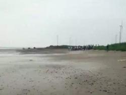 盐城两名13岁男孩海边玩耍 1人溺亡1人仍未找到