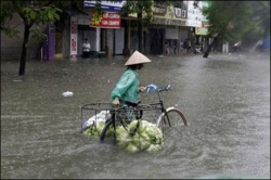 越南暴雨和洪灾导致的死亡人数升至37人