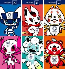 2020年东京奥运会公布候选吉祥物,由日本小时时彩开户投票决定
