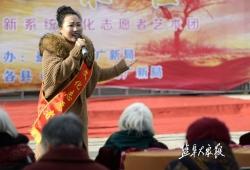 滨海县通榆镇 举办农民文化艺术汇演