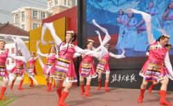 东台市歌舞团 精彩好戏送到集场