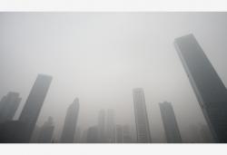 """浓雾""""深锁""""长江下游 立体交通受阻"""