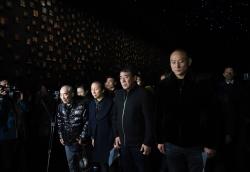 侵华日军南京大屠杀遇难同胞纪念馆为最近离世的大屠杀幸存者举行熄灯悼念仪式