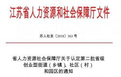 好消息!东台市又有4个镇72个社区(村)建成省级创业型乡镇和社区(村)