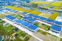 响水县七套中心社区 加快农村新型社区建设