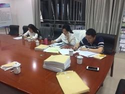 亭湖区人社局社保中心参与 全市社会保险转移业务专项交叉稽核