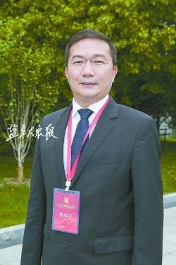 鹽城是合作發展優選之地 ——訪上海市臺協會常務副會長、吉的堡教育集團董事長楊明潭