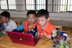 市青少年机器人竞赛开赛