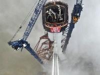 世界最大跨度公鐵兩用斜拉橋主塔順利封頂