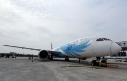 郑州至伦敦定期客运航线开航
