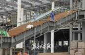 盐城综合枢纽站房建设加速度