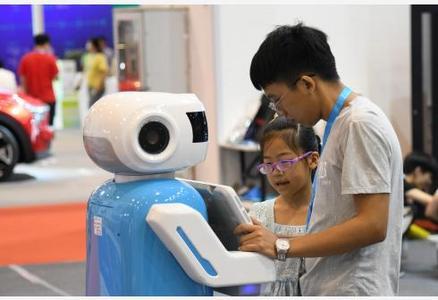 电子消费博览会上体验未来智慧生活