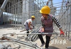 高架周周看(64):高架三期主体结构施工收官在即