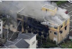 日本京都火灾已确认25人死亡,安倍发推文:痛心到难以言喻