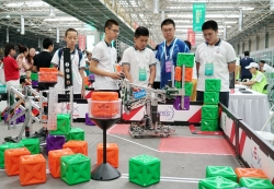 河北保定:2019世界机器人大赛总决赛开赛
