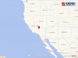 美国加利福尼亚州发生7.1级地震