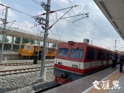 徐宿淮盐铁路预计12月15日具备开通条件 刚刚记者率先体验了 感觉超棒