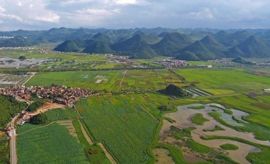 云南丘北:普者黑景色秀麗