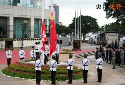 不是不报 时间未到!《新闻联播》正告香港极端暴徒