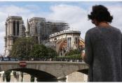 修缮中的巴黎圣母院
