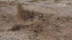 陕西黄河壶口瀑布迎来今年最大洪峰