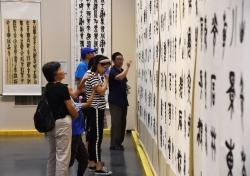 北京平谷:品味书法魅力