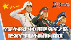 习声回响|坚定不移走中国特色强军之路 把强军事业不断推向前进