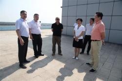 应邀来盐考察职工疗休养线路,上海市客人频频点赞