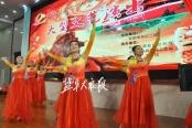 军歌嘹亮艺术团载歌载舞迎国庆