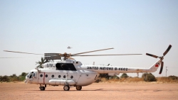 中国第三批维和直升机分队开始在苏丹执行任务