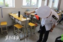 """市区部分学校(幼儿园)接受卫生""""体检"""""""