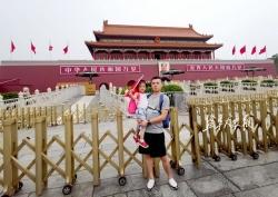 【我爱北京天安门②】我的爱国情从天安门开始