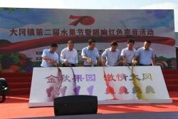 大冈镇第二届水果节暨唱响红色声音活动圆满举行