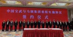 我国钢铁业大动作!中国宝武与马钢集团重组