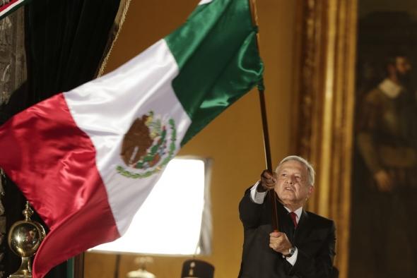墨西哥庆祝独立209周年