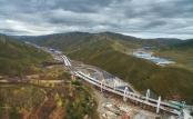 延崇高速太子城互通式立交建設穩步推進