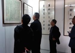 丹青歌盛世 翰墨寄乡愁鹡鸰在原——东台行忆四十年回顾展在西溪举办