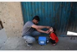 阿富汗开展小儿麻痹症疫苗接种行动