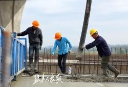 高架周周看(79) :全线桥面铺装完成超90%