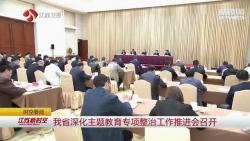 江苏深化主题教育专项整治工作推进会召开