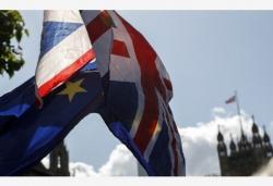"""欧盟与英国就""""脱欧""""达成协议"""