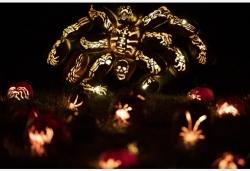 哈得孫河畔南瓜燈大展迎接萬圣節