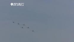空军以全盛阵容展翅长春 庆祝成立70周年