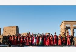 第四屆中非藝術節在埃及阿斯旺開幕