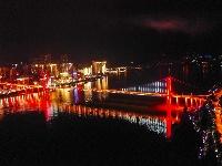 三峽水庫蓄水至170米 長江再現高峽平湖夜色美