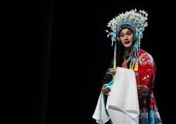 原創現代昆劇《梅蘭芳·當年梅郎》在南京上演