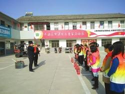 新洋经济区童家沟社区组织居民进行消防知识培训