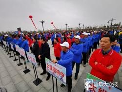 """440名自行車愛好者""""騎越縱湖"""",倡導綠色健康生活方式"""